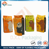 Customized Kraft Paper Side Gusset Sanck Food Pouch