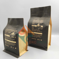 //5mrorwxhkiinrii.leadongcdn.com/cloud/njBqoKiiSRrpkklllji/1Flat-Bottom-Brown-kraft-coffee-bags-with-Front-Zi.jpg