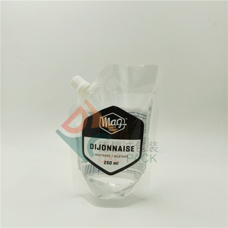 250ml Printing Spout Pouch For Sauce and Butter