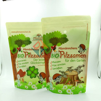 Custom Printed Health Snack Food Packaging Bags Stand Up Pouches with Zipper