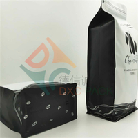 5lb Foil Flat Bottom Coffee Bags with Pocket Zipper