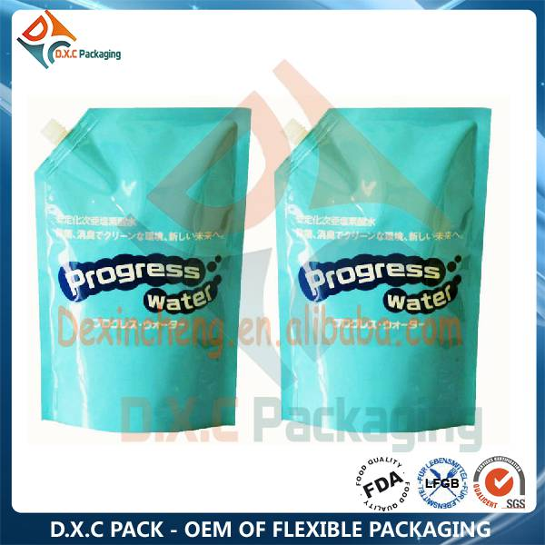 100% Non-leakage Shampoo Spout Pouches with Custom Printing