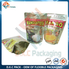 Aluminum Stand Up Foil Bags For Health Food