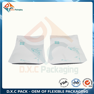 Trapezoid Pouch for Coffee Packaging Customized Pouch Type