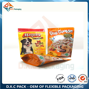 25g-1kg stand up zipper pouches for Dog Food Dry Pet Food Packaging