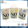 White Kraft Paper Stand Up Pouch with Custom Window And Zipper for Sanck Food Packaging