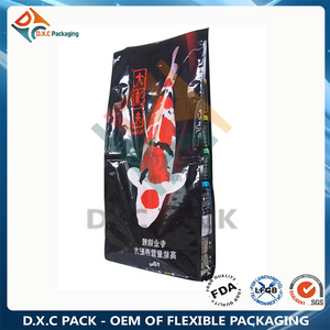 10kg Metalized Side Gusset Fish Food Pet Food Packaging Bag