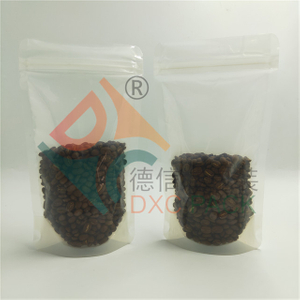 Eco Friendly Compostable PBS Stand Up Pouch Coffee Bags with Zipper